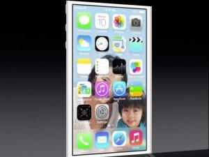 New iOS 7 display